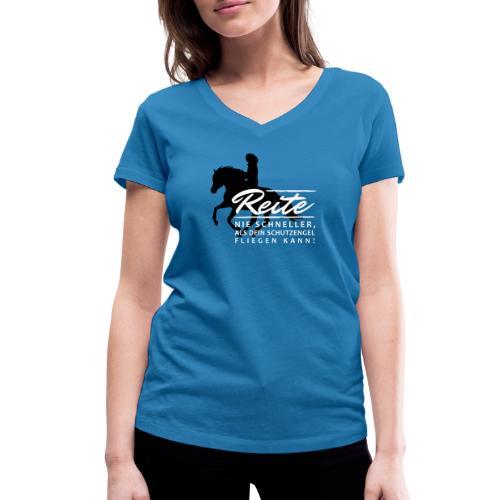 Schutzengel - Frauen Bio-T-Shirt mit V-Ausschnitt von Stanley & Stella