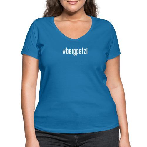 #bergpatzi - Frauen Bio-T-Shirt mit V-Ausschnitt von Stanley & Stella