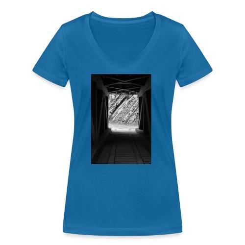 4.1.17 - Frauen Bio-T-Shirt mit V-Ausschnitt von Stanley & Stella