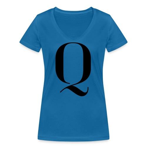 Q - Women's Organic V-Neck T-Shirt by Stanley & Stella
