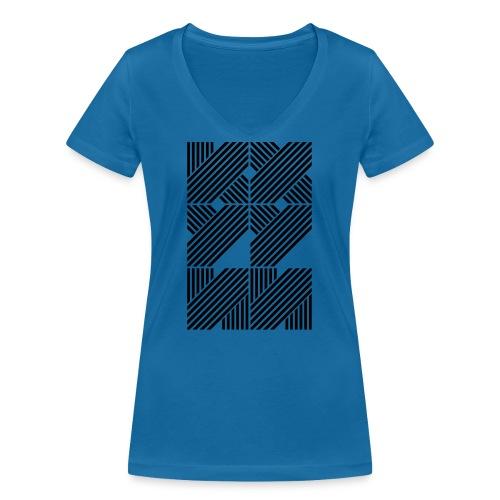 Kui Hui - T-shirt bio col V Stanley & Stella Femme