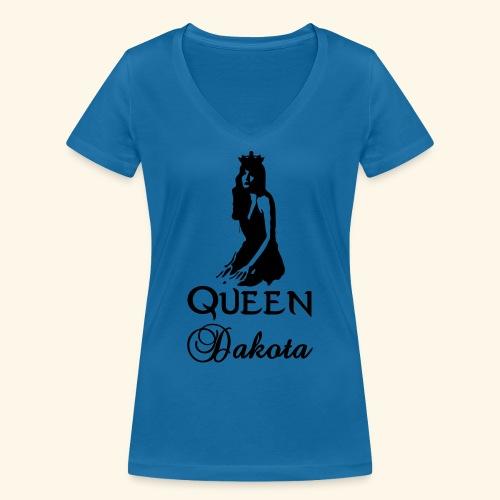 Queen Dakota - Women's Organic V-Neck T-Shirt by Stanley & Stella