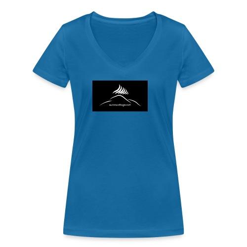 aurorottage - Frauen Bio-T-Shirt mit V-Ausschnitt von Stanley & Stella
