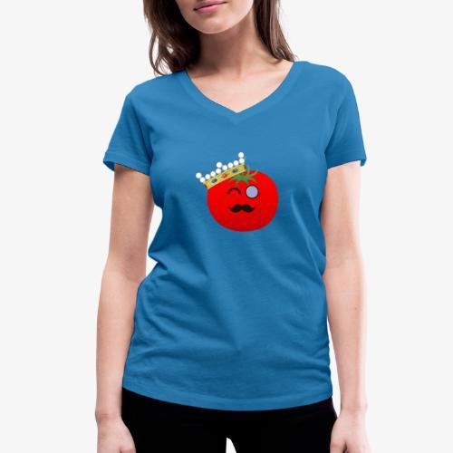 Tomatbaråonin - Ekologisk T-shirt med V-ringning dam från Stanley & Stella