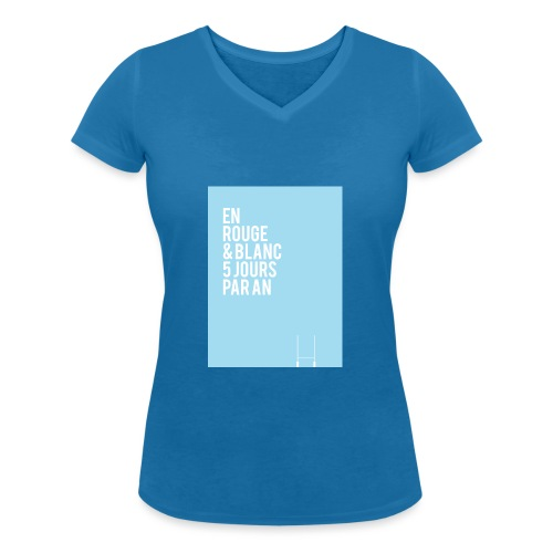 AUPA AB Mode le 1 png - T-shirt bio col V Stanley & Stella Femme