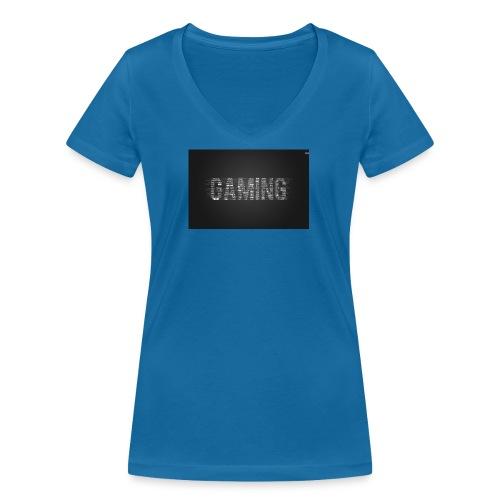 gaming 28646 1680x1050 - Ekologisk T-shirt med V-ringning dam från Stanley & Stella