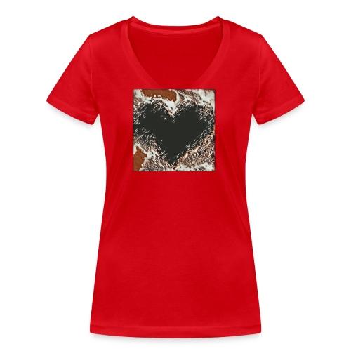 Hart 2 - T-shirt ecologica da donna con scollo a V di Stanley & Stella