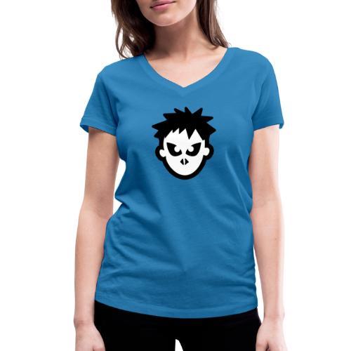 Sorskoot Head - Women's Organic V-Neck T-Shirt by Stanley & Stella