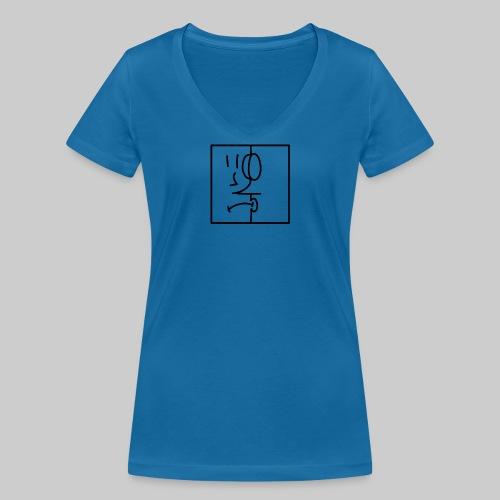 zwei Gesicht - Frauen Bio-T-Shirt mit V-Ausschnitt von Stanley & Stella