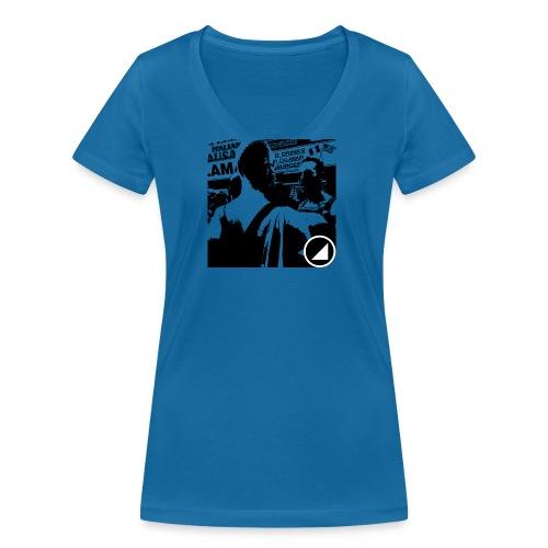 BULGEBULLFSE5 - Camiseta ecológica mujer con cuello de pico de Stanley & Stella