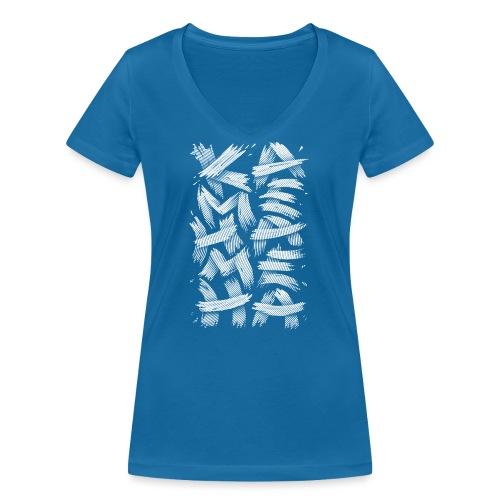 KAMEHAMEHA - Women's Organic V-Neck T-Shirt by Stanley & Stella