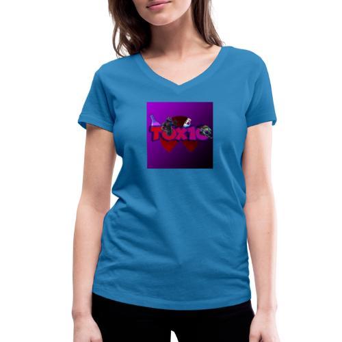 toxic paita - Stanley & Stellan naisten v-aukkoinen luomu-T-paita