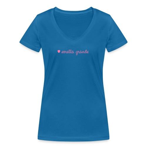 sorella grande - Frauen Bio-T-Shirt mit V-Ausschnitt von Stanley & Stella
