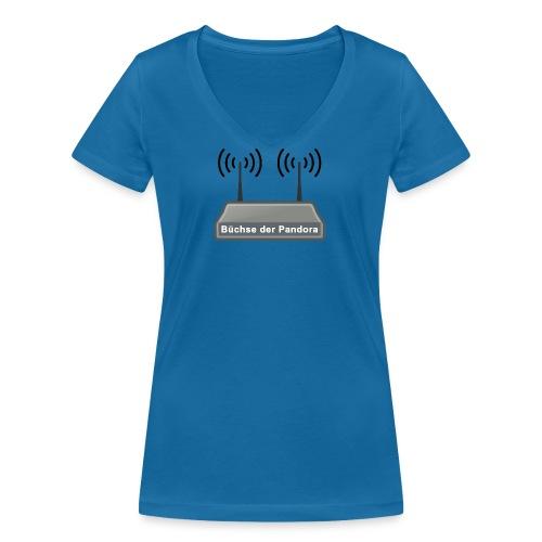 Büchse der Pandora - Frauen Bio-T-Shirt mit V-Ausschnitt von Stanley & Stella