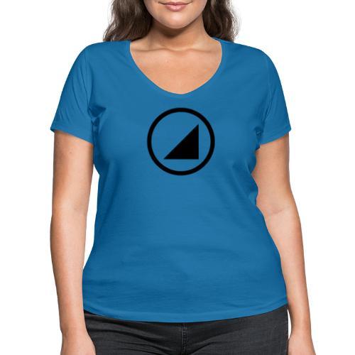 bulgebull marca oscura - Camiseta ecológica mujer con cuello de pico de Stanley & Stella