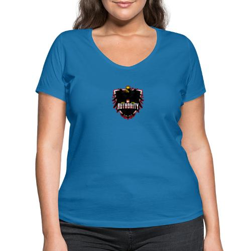 AUThority Gaming red - Frauen Bio-T-Shirt mit V-Ausschnitt von Stanley & Stella