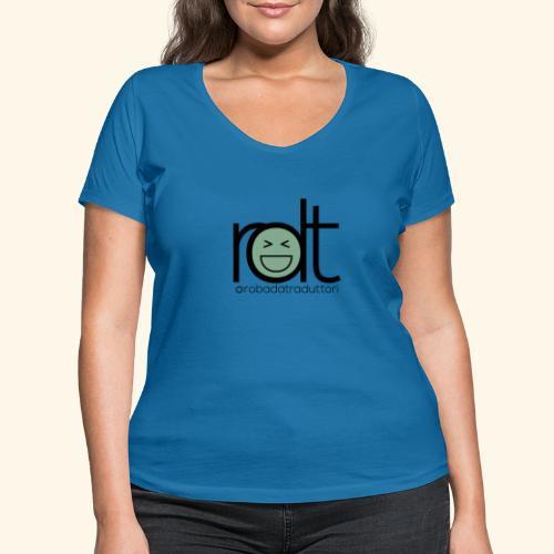 Roba da Traduttori - T-shirt ecologica da donna con scollo a V di Stanley & Stella