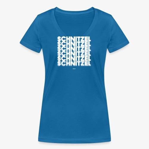 SCHNITZEL #02 - Frauen Bio-T-Shirt mit V-Ausschnitt von Stanley & Stella