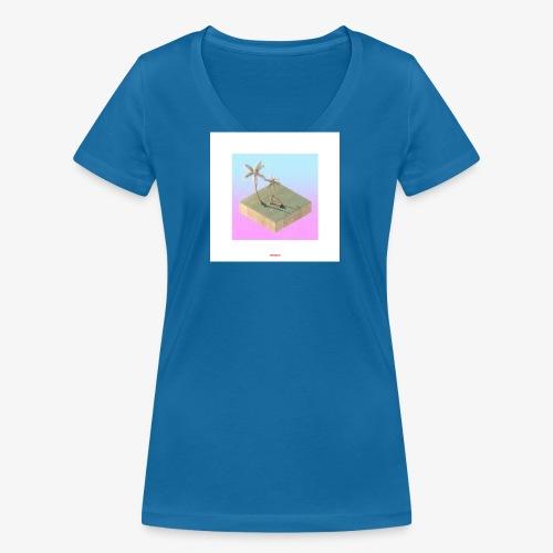 ISLAND #01 - Frauen Bio-T-Shirt mit V-Ausschnitt von Stanley & Stella