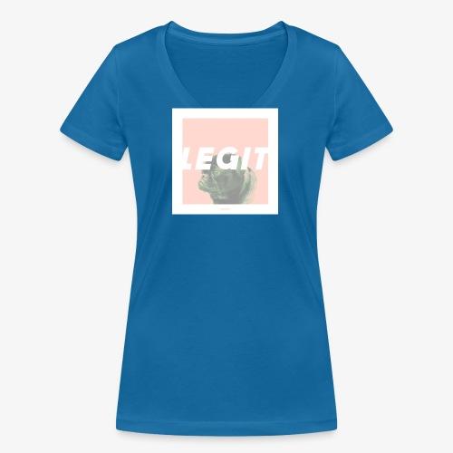 LEGIT #03 - Frauen Bio-T-Shirt mit V-Ausschnitt von Stanley & Stella