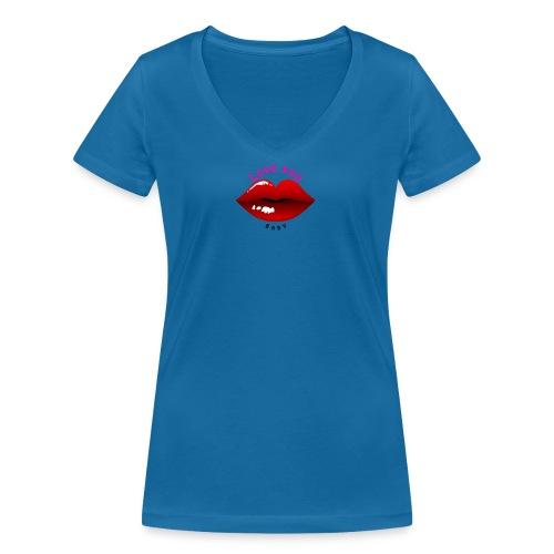 Love you - Frauen Bio-T-Shirt mit V-Ausschnitt von Stanley & Stella