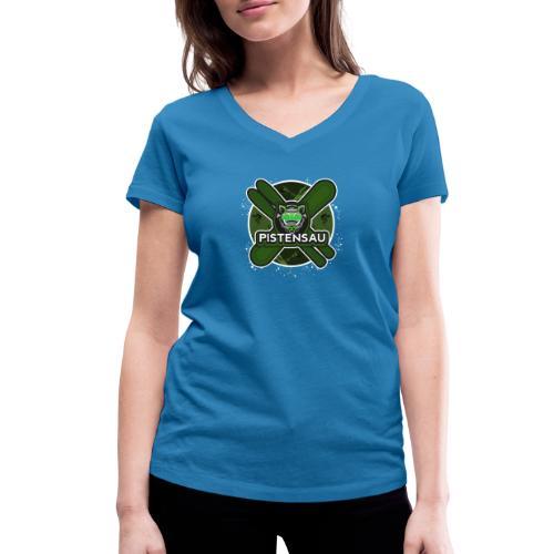 PistenSau NuClear - Frauen Bio-T-Shirt mit V-Ausschnitt von Stanley & Stella