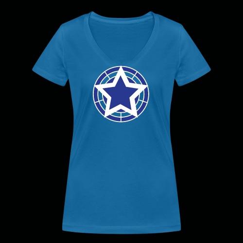 Stern Logo - Frauen Bio-T-Shirt mit V-Ausschnitt von Stanley & Stella