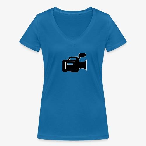camera - Økologisk Stanley & Stella T-shirt med V-udskæring til damer