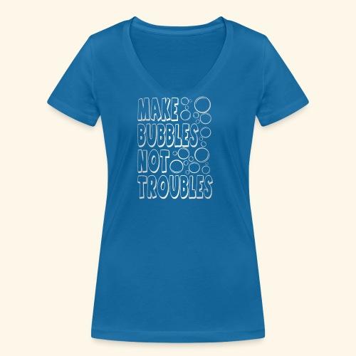 Bubbles003 - Vrouwen bio T-shirt met V-hals van Stanley & Stella
