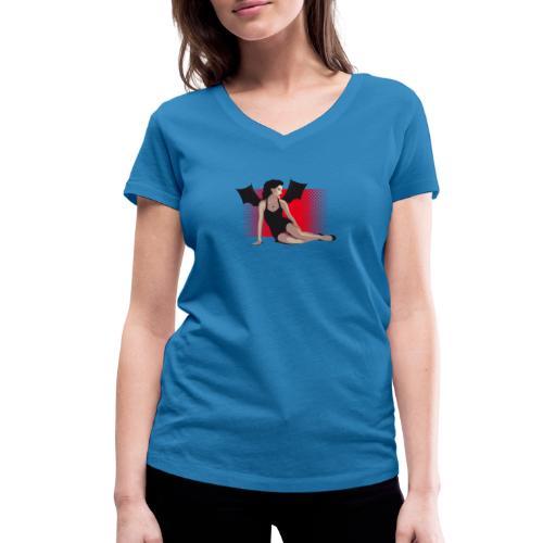 Betty - Vrouwen bio T-shirt met V-hals van Stanley & Stella