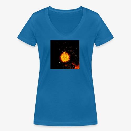 FIRE BEAST - Vrouwen bio T-shirt met V-hals van Stanley & Stella