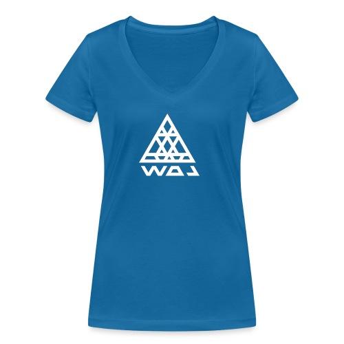 Triangel Konst - Ekologisk T-shirt med V-ringning dam från Stanley & Stella