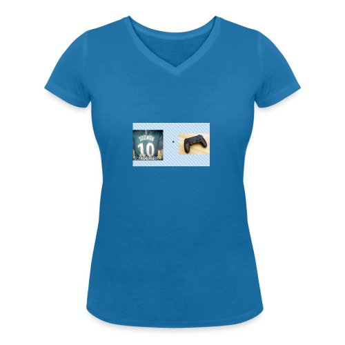 samsung phone case - Women's Organic V-Neck T-Shirt by Stanley & Stella