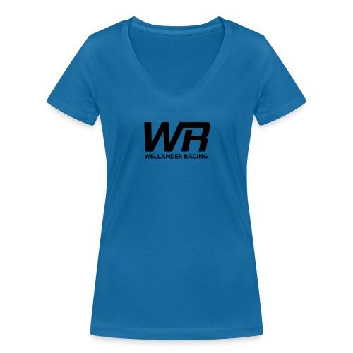 WRRACING - Ekologisk T-shirt med V-ringning dam från Stanley & Stella