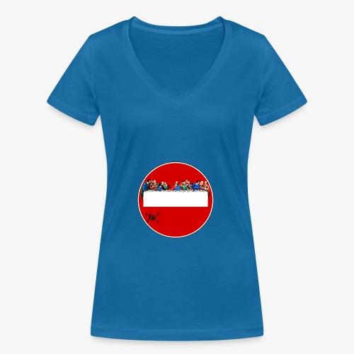 GW ultima cena - T-shirt ecologica da donna con scollo a V di Stanley & Stella