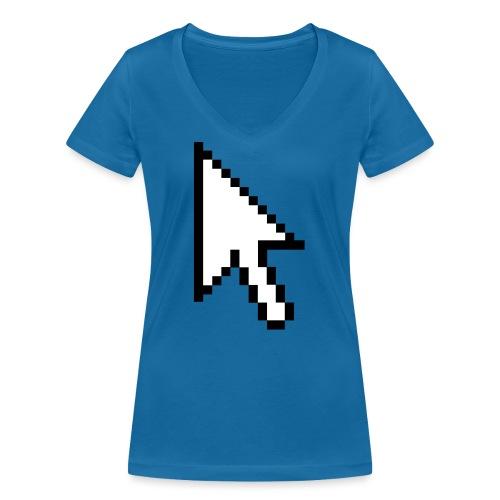 Mouse Arrow - Vrouwen bio T-shirt met V-hals van Stanley & Stella
