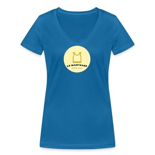 le Mait'Nage prend l'eau - T-shirt bio col V Stanley & Stella Femme