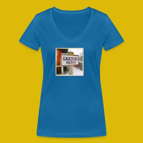 Gogoldorak - T-shirt bio col V Stanley & Stella Femme
