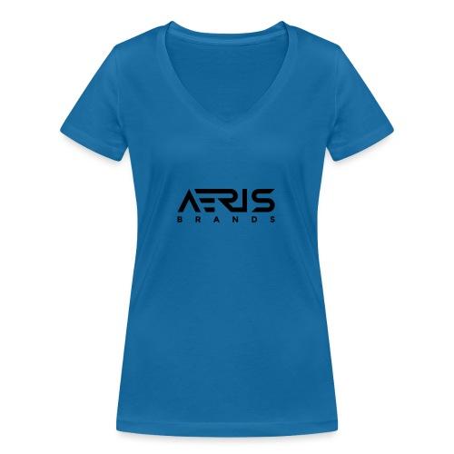 AB Black - Frauen Bio-T-Shirt mit V-Ausschnitt von Stanley & Stella