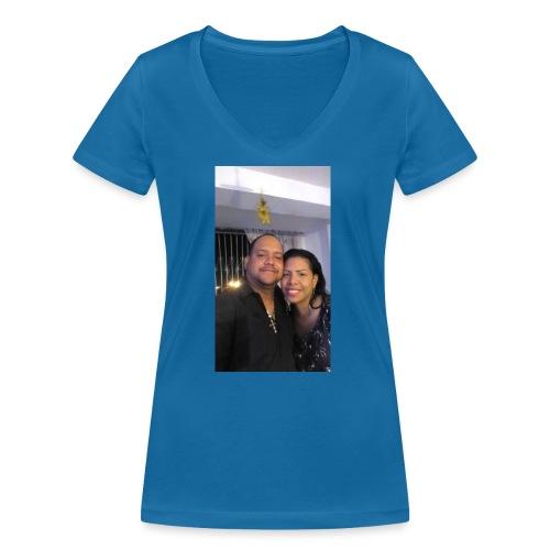 15844878 10211179303575556 4631377177266718710 o - Camiseta ecológica mujer con cuello de pico de Stanley & Stella