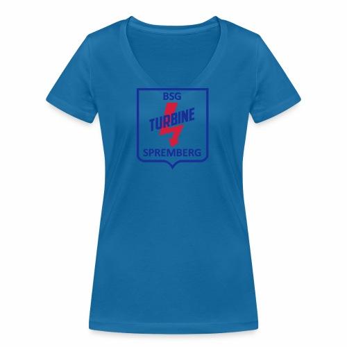 Turbine Spremberg - Frauen Bio-T-Shirt mit V-Ausschnitt von Stanley & Stella