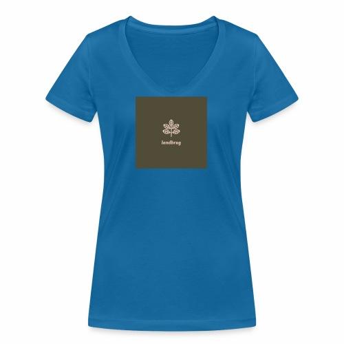 Landbrug - Økologisk Stanley & Stella T-shirt med V-udskæring til damer