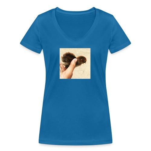 Freedom - Økologisk Stanley & Stella T-shirt med V-udskæring til damer