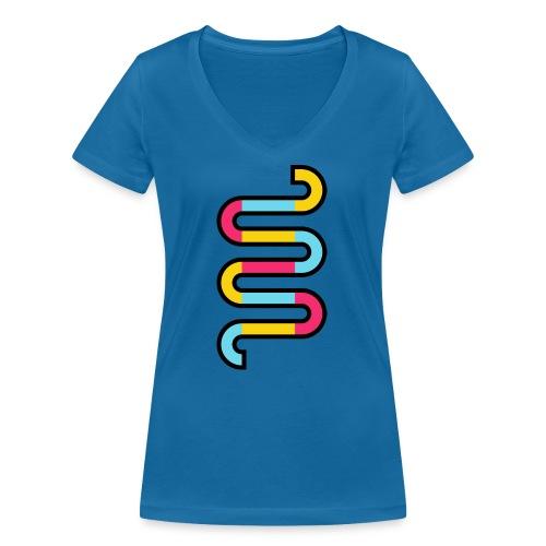 Die DNA deines Unternehmens - Frauen Bio-T-Shirt mit V-Ausschnitt von Stanley & Stella