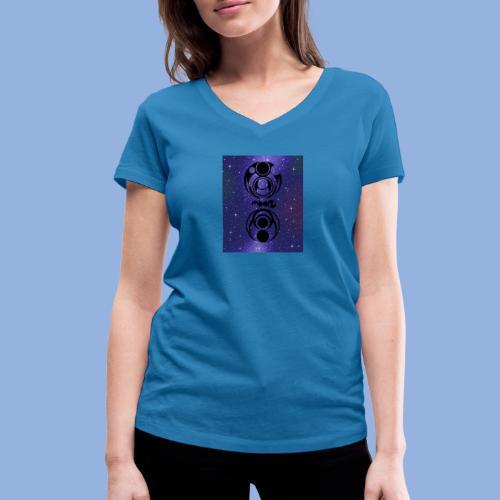 Knocking on heaven's door Space 1 - T-shirt bio col V Stanley & Stella Femme