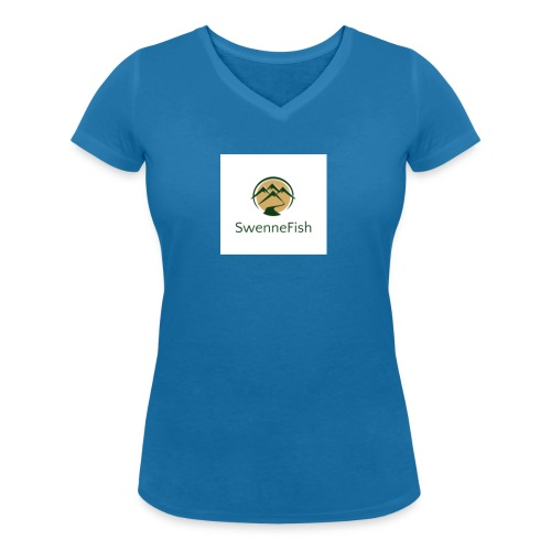 Logo 25 - Vrouwen bio T-shirt met V-hals van Stanley & Stella