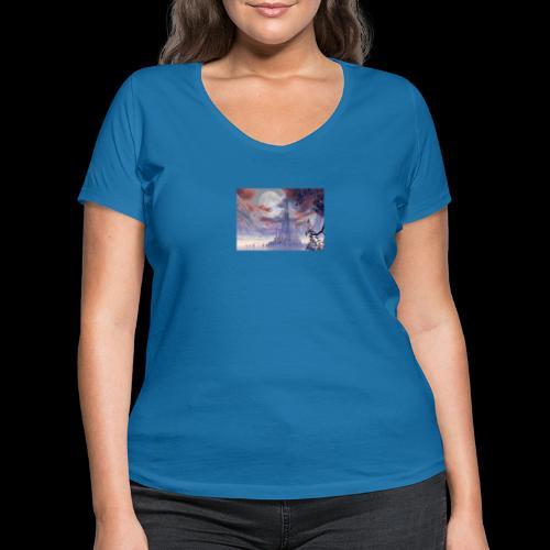 FANTASY 3 - Frauen Bio-T-Shirt mit V-Ausschnitt von Stanley & Stella