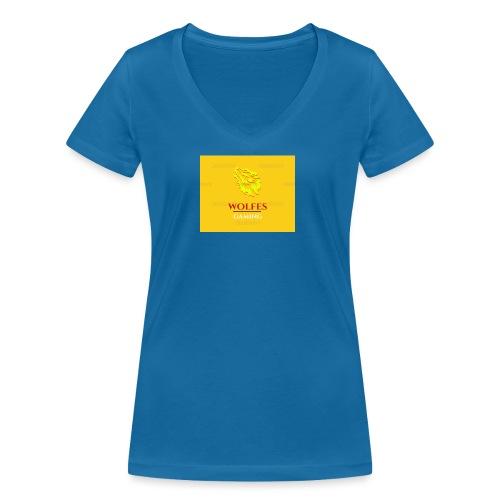 wolfes - Økologisk Stanley & Stella T-shirt med V-udskæring til damer