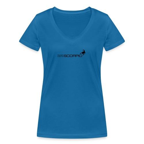scorpio logo - Vrouwen bio T-shirt met V-hals van Stanley & Stella