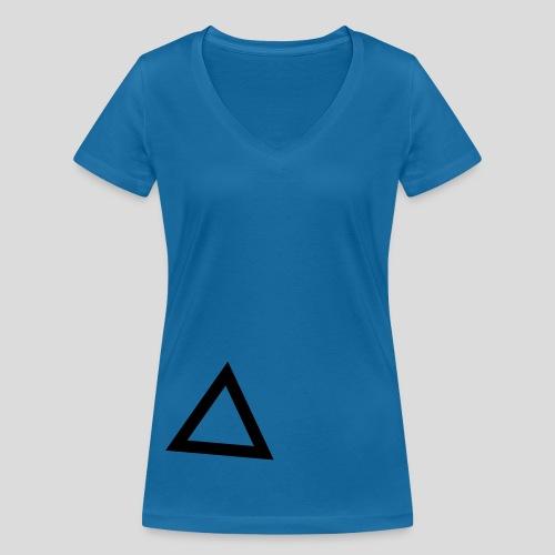 Triangle - T-shirt ecologica da donna con scollo a V di Stanley & Stella